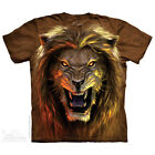 The Mountain BEAST LION Adult Men T-Shirt S-2XL Short Sleeve PRINT IN USA
