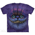 The Mountain CHESHIRE CAT Adult Men T-Shirt S-2XL Short Sleeve PRINT IN USA