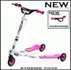 XTREME SMALL SPEEDER 1 SCOOTER WITH 125mm WHEELS Kid 3 Wheeled Tri X-Flick Drift