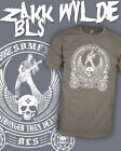Black Label Society SDMF BLS Zakk Wylde Metal Guitar Shirt - Scoop V-Neck Raglan