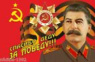 """Soviet Victory Day flag of """"Thanks to Grandfather for Victory"""" $14.99 USD on eBay"""