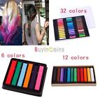 New 6 / 12 / 36 Colors Draw Fast Temporary Pastel Hair Extension Dye Chalk For Women
