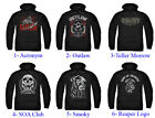 Authentic Sons Of Anarchy Adult Men Pull Over Hoodie Sweater New S-3XL