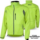 Cycling Waterproof Jacket Rain Proof Bicycle Coat Breathable Hi Vis Visibility