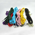 "47""/120cm Thickened Flat Shoe Laces Bootlaces Metallic head Sneaker Shoelaces"