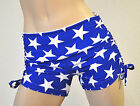 Wonder Woman Stars Hot Yoga Shorts Bikram Crossfit  Pole Fitness Roller Derby