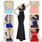 Hottest Sexy Designer Formal Mermaid Evening Cocktail Party Dresses *UK SELLER*