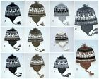 Winter Stretch Knit Hat Assorted Colors Baby Boy Girl 12 months to 5T Ear flaps