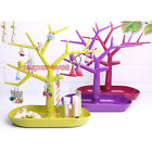 Jewelry Stand Bird Tree Display Earring Rings Makeup Holder Rack Tray Organizer