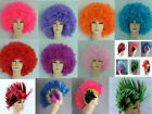 Mannequin WIG Hair Extensions Party WIG coil hair red pink purple blue