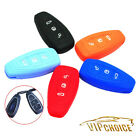 Key Case Cover Silicone Skin Fob For Ford Mondeo Fiesta Focus Titanium 3 Buttons