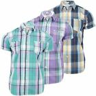 Mens Shirt By Tokyo Tigers 'Nobori' Casual Fashion Check Muscle Fit