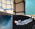 SMKN 3.5m × 3m pool pond CHILD SAFETY SUPER NET covers grids netting BLACK/BLUE