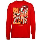 San Francisco 49ers Youth Rush Zone Front & Center Long Sleeve T-Shirt - Scarlet