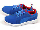Puma Carson Runner Lightweight Breathable Strong Blue/High Risk Red 357482 05