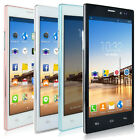 "Unlocked 5.5"" Smartphone Android 4.4 Dual Core 2SIM 3G AT&T WIFI GPS Cell Phone"