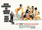 James Bond You Only Live Twice Movie Film Poster A3 A4 £5.95 GBP