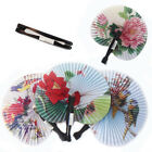 3,6,12 Chinese Paper Folding Fans Folded Party Gift Filler Fancy Dress Accessory