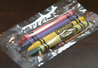 New Crayola Crayons 4 pack Cello Wrapped Lot of 25, 50, 100, 360 USA