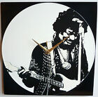 "Jimi Hendrix Collection - 12"" LP Vinyl Record Clock from The Record's Ticking"