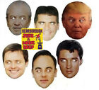 Celebrity Cut Out Mask - 6 Celebrities Available! - Pick The One You Want!