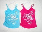 Girls Top  Singlet To Choose Colour Pink or Aqua & Size 3,4,5,6,7 Brand New!!!