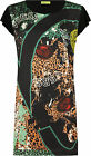 Versace Jeans Large Print Tunic Dress