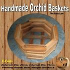 BASKETS HANDMADE OCTAGONAL RUSTIC LOOK HANGING BASKET WOODEN FOR PLANTS, ORCHIDS