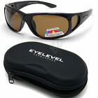 Mens Eyelevel Polarized Sports Wrap Around Pro Fishing Sunglasses UV400 + Case