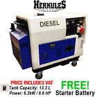 Diesel Fuel Portable Power Generator Engine New Boxed 7.9 KVA 6.3 Kw 230/400/12v