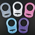 1-100 MAM Style Ring Clips Silicone Dummy Adapters 5 Colours/Free P&P/UK SELLER