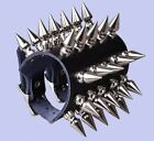 Leather Spike Armguard Bracers Punk Medieval Bracelet