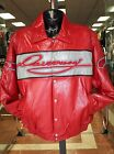 Men's Davoucci Red 100% Genuine Leather Jacket