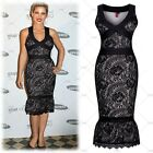 New Women's Black Prom Gown Evening Formal Party Cocktail Prom Dress Club Wears