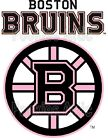 Boston Bruins Iron On T Shirt / Pillowcase Fabric Transfer #5 - PINK $5.99 USD on eBay