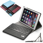 """Slim Leather Case Cover + Bluetooth Keyboard For Apple iPad Air 2 / iPad 6 9.7"""""""