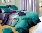 Twilight Luxury 100% Cotton Bedding Set: Duvet/Comforter Cover Set or Sheet Set