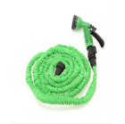 Latex 25 50 75 100 FT Expanding Flexible Garden Water Hose with Spray Nozzle фото