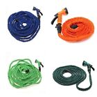 Home Garden - Latex 25 50 75 100 FT Expanding Flexible Garden Water Hose with Spray Nozzle