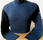 TEDDY SMITH T-Shirt L/S Men's Turtle Neck Tops Navy & Black Sizes: S,M,L