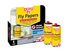 STV The Buzz Traditional Sticky Fly Killer Papers 4 Pack ZER015 & 8 Pack ZER878