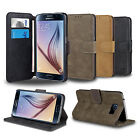 New Flip Wallet Leather Case Cover Stand For SAMSUNG Galaxy S6 Screen Protector