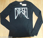Diesel girl black t-shirt  top size XL (12-13-14 y) BNWT designer