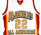 CARMELO ANTHONY #22 McDONALDS ALL AMERICAN JERSEY AUTHORIZED NEW SEWN ANY SIZE