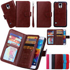 PU Leather Handbag Cash Wallet Clutch Phone Case for iPhone 5 6 6 Plus / Samsung