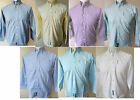 BEN SHERMAN Shirt Boys youths L/S Plain Oxford Sky Blue,White,Yellow,Aqua,Navy
