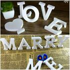 26 Wooden Freestanding Letters Love Alphabet Wedding Party Home Shop Decorations