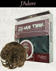 Hair Twirl Twist Wrap Around Hair Bun Piece Updo Extension Piece Large JWHT