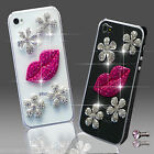 NEW DELUX LUXURY BLING PINK FLOWER DIAMANTE CASE 4 IPHONE SAMSUNG SONY HTC PHONE