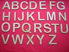 8cm 3 inch UPPER & LOWER CASE MDF LASER CUT ALPHABET LETTERS (Arial Rounded)